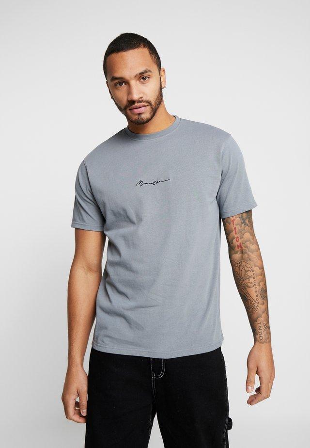 ESSENTIAL SIGNATURE  - T-shirt basique - teal