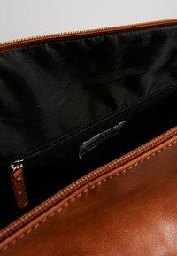 YOURTURN - Weekend bag - cognac - 4