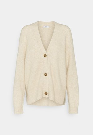 WOMEN´S - Cardigan - cashew nut
