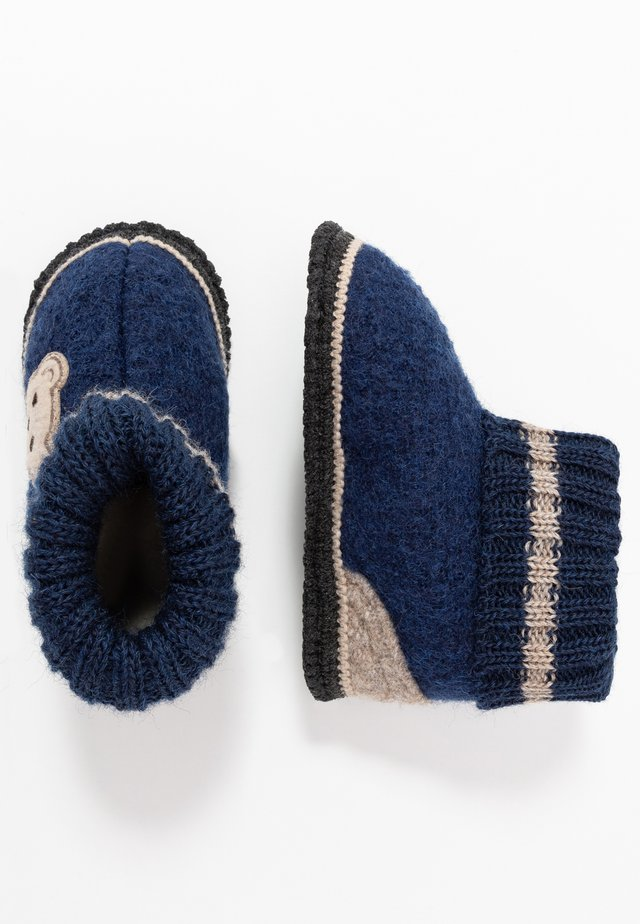Slippers - navy