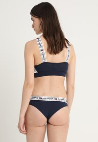 Tommy Hilfiger - AUTHENTIC THONG - Thong - blue - 2