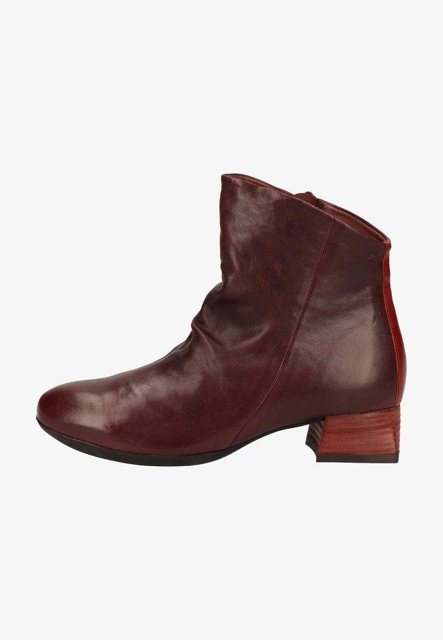 Ankle boots - chianti/kombi 5000