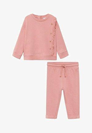 SET - Trainingsanzug - rose bonbon