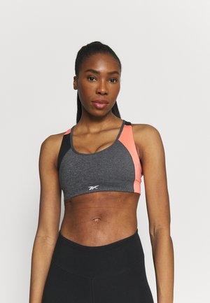 LUX RACER BRA PAD - Sujetadores deportivos con sujeción media - dark grey heather