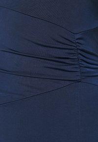 WAL G. - JULIANNA RUCHED DRESS - Vestido de fiesta - navy blue - 5