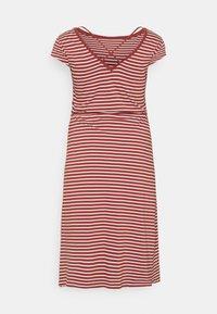 ONLY Carmakoma - CARAPRIL LIFE STRING DRESS - Jersey dress - apple butter/cloud - 1