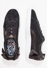 Puma - Loaferit/pistokkaat - black - 3