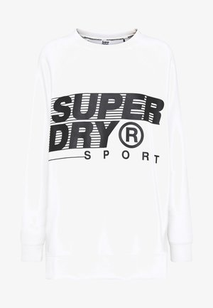 TRAINING GRAPHIC OVERSIZED CREW - Sweater - optic