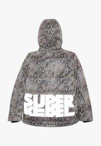 SuperRebel - SKI TECHNICAL JACKET ALL OVER - Snowboard jacket - beige - 1