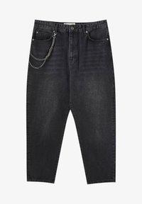 PULL&BEAR - Jeans a sigaretta - mottled dark grey - 5