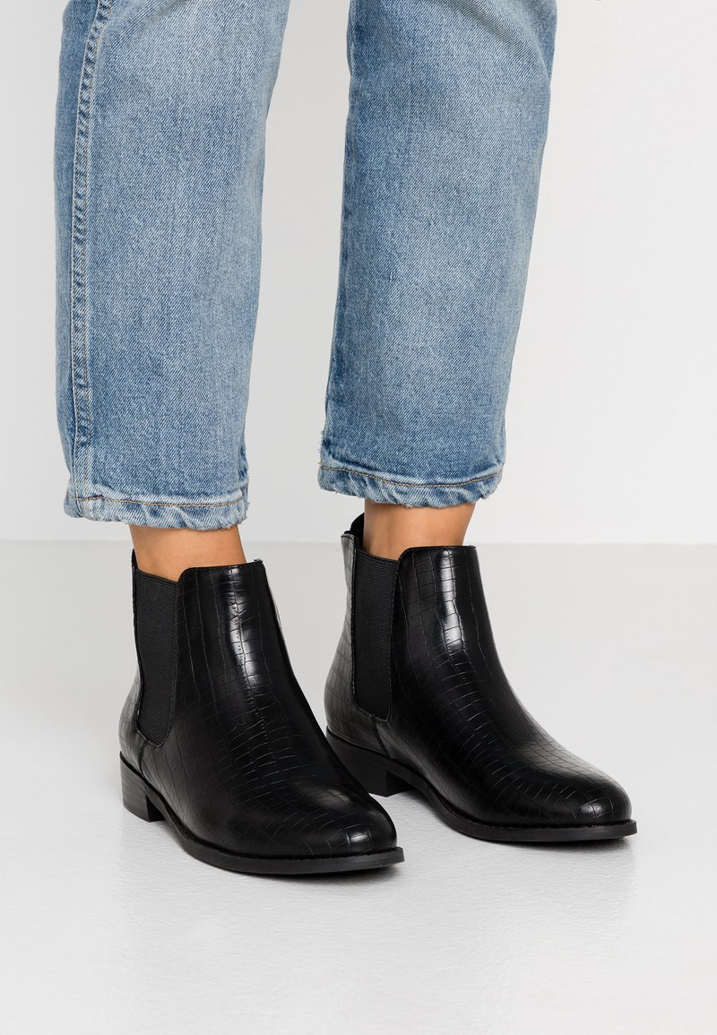 Bianco - BIABELENE CLASSIC CHELSEA - Ankle boots - black