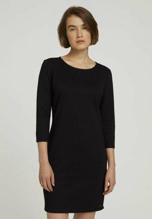 Shift dress - deep black