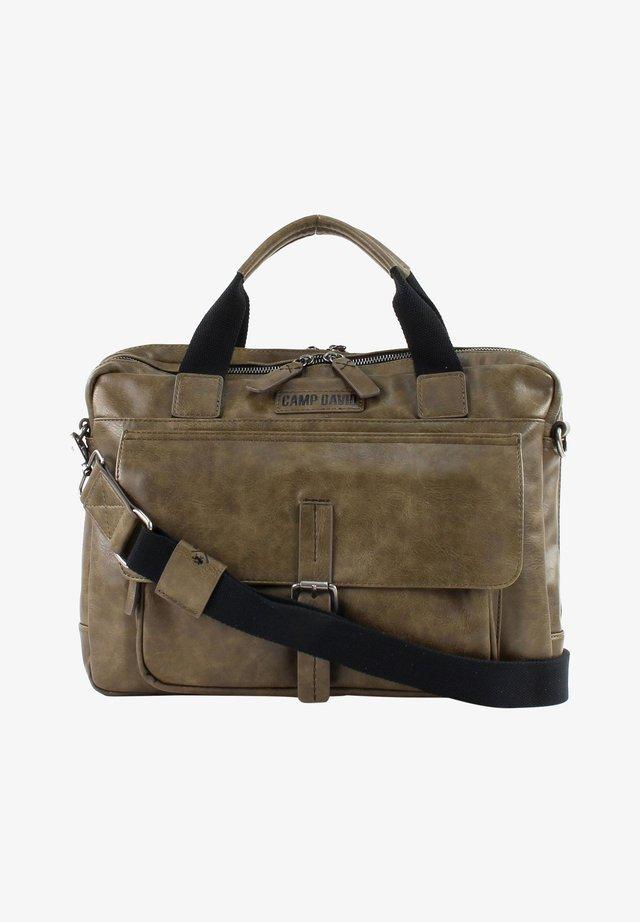 Briefcase - khaki