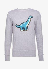 Bricktown - BIG DINOSAUR - Sweatshirt - heather grey - 3