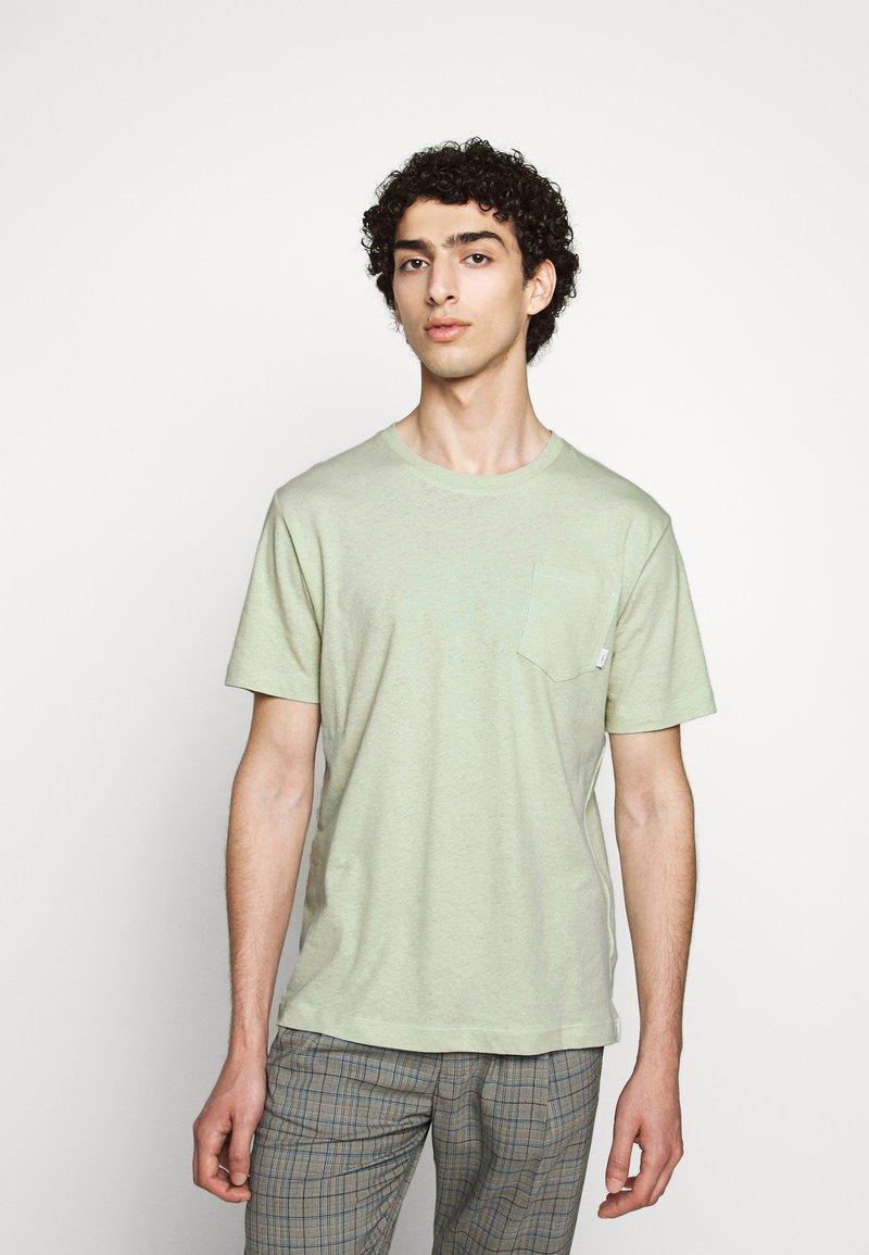Tiger of Sweden - DIDELOT - Basic T-shirt - light green