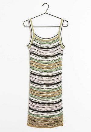 Jersey dress - multi-colored