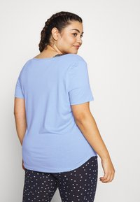 Cotton On Body - CURVE GYM - T-shirt basic - sky blue - 2