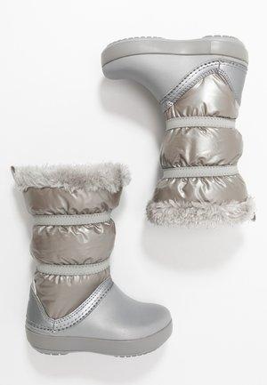 LODGEPOINT BOOT - Vinterstøvler - silver metallic