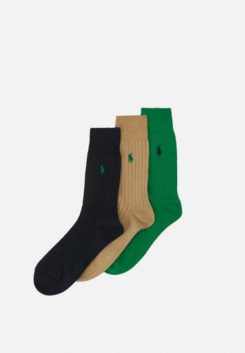 EGYPTIAN 3 PACK - Socks - golf green