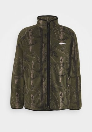 BEAUFORT JACKET - Fleecejacka - tree green/grey