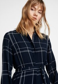 Great Plains London - AGNES CHECK - Shirt dress - space navy combo - 3