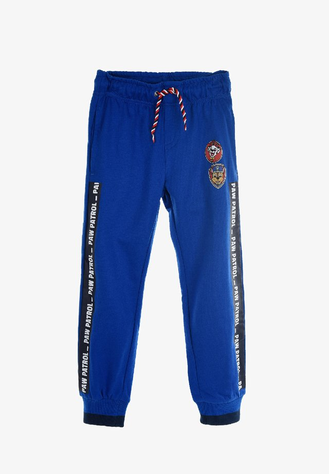 KINDER  - Tracksuit bottoms - blau
