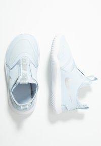 Nike Performance - FLEX RUNNER - Neutral running shoes - half blue/metallic silver/white - 1