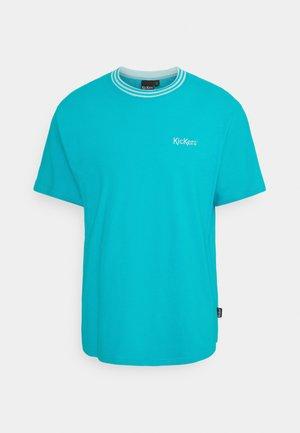 TEE - Basic T-shirt - dark aqua