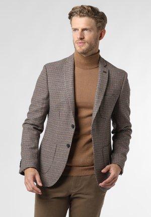Blazer jacket - camel mehrfarbig