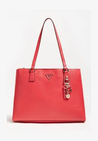 Guess - BECCA LUXURY SATCHEL - Tote bag - rot