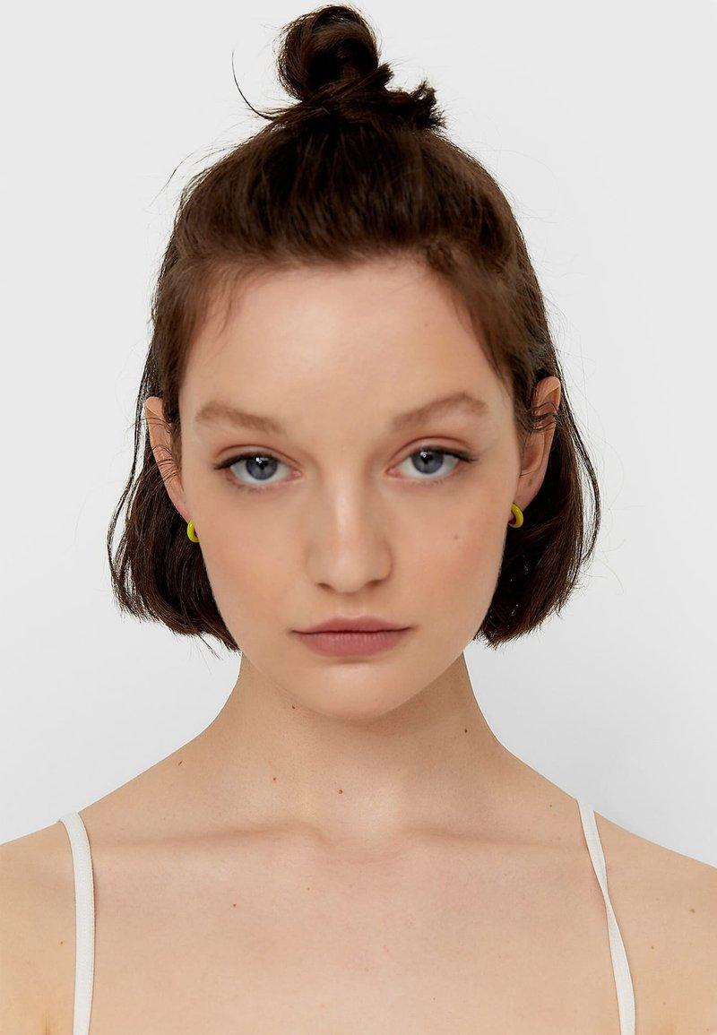 Stradivarius - 6 SET - Earrings - gold