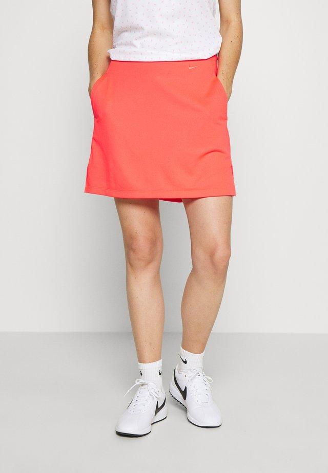 DRY VICTORY SKIRT SOLID - Sports skirt - laser crimson/pink gaze /laser crimson