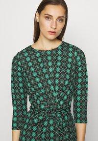 King Louie - HAILEY DRESS ABERDEEN - Day dress - fir green - 3
