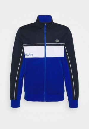 TENNIS JACKET - Veste de survêtement - navy blue/lazuli/white