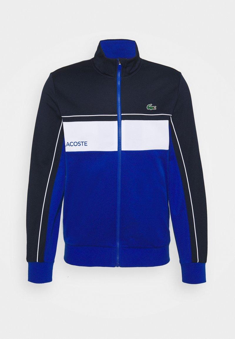 Lacoste Sport - TENNIS JACKET - Trainingsvest - navy blue/lazuli/white