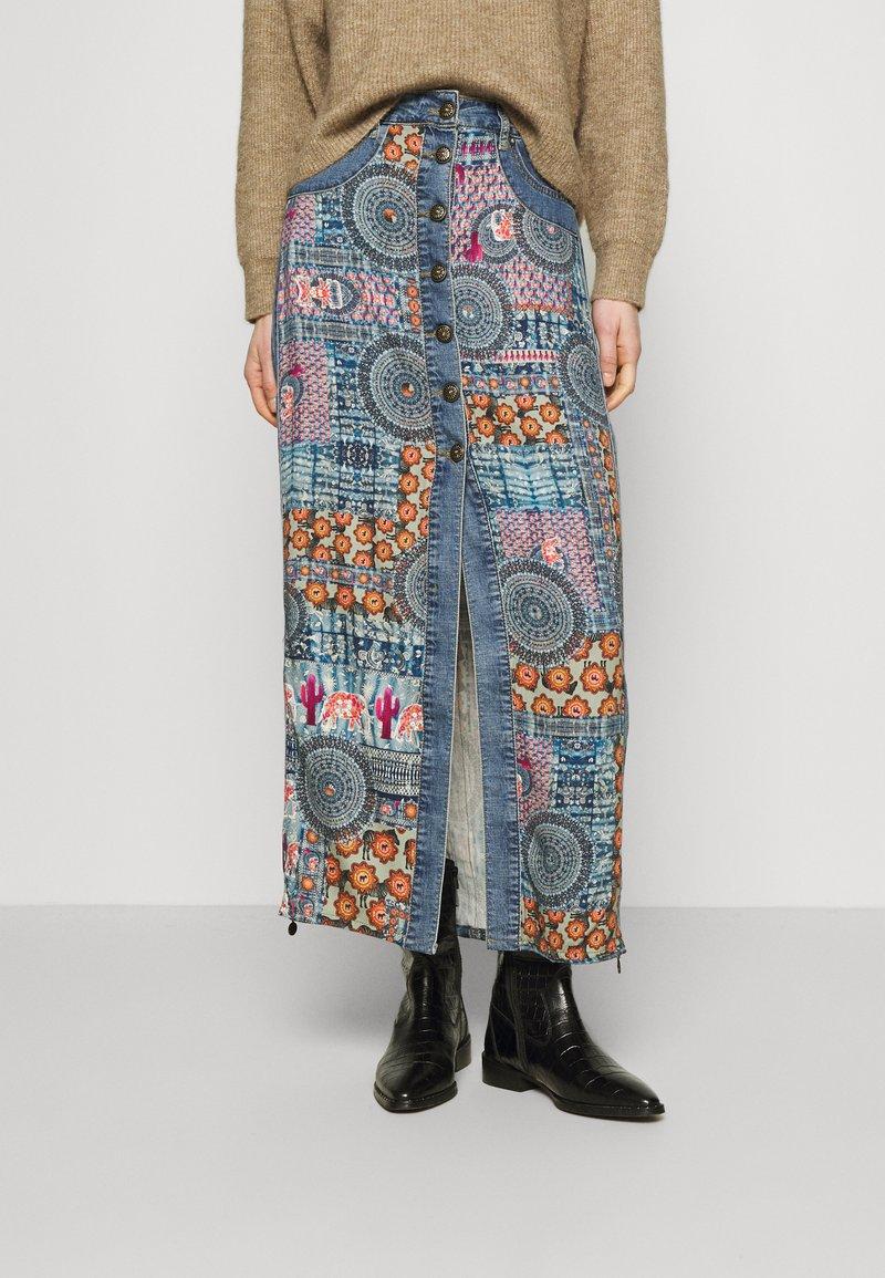 Desigual - Maxi skirt - blue