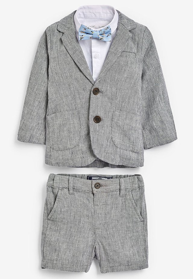GREY BLAZER, SHIRT & SHORT SET (3MTHS-7YRS) - Giacca - grey