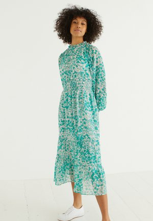 BLISSFUL BAMBOO PRINT  - Korte jurk - green