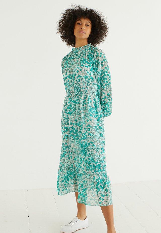 BLISSFUL BAMBOO PRINT  - Korte jurk - green