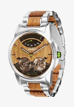 GREEN EDITION ARIAN - Cronografo - silber/braun