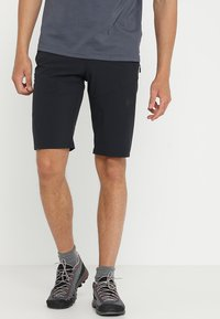Mammut - RUNBOLD SHORTS MEN - Friluftsshorts - black - 0