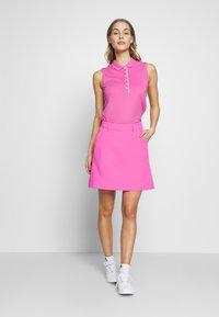 Kjus - IRIS SKORT LONG - Sportovní sukně - pink divine - 1