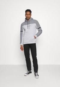 Brave Soul - THAMES - Sweatshirt - light grey marl/light grey/jet black - 1