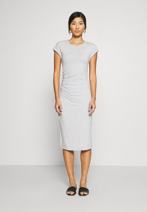 Shift dress - mottled grey