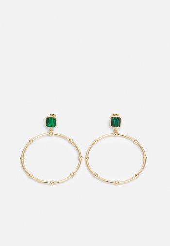 PCANEMONE EARRINGS - Earrings - gold-coloured