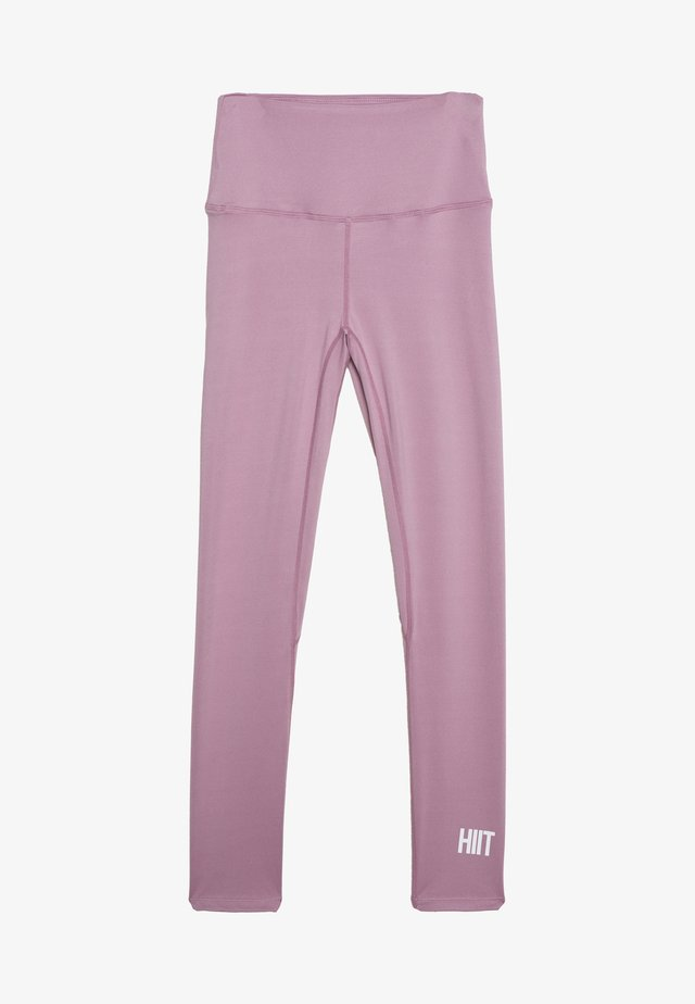 LOXY RUCHED LEGGING - Tights - purple