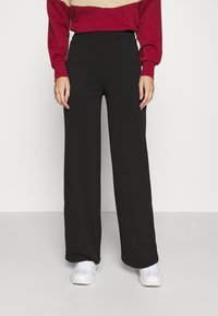 ONLY - ONYCOCO ROCKY WIDE PANT  - Trousers - black - 0