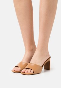 Dune London - MARCH - Heeled mules - camel - 0