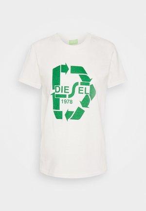 T-SILY-V32 T-SHIRT - T-shirt med print - offwhite