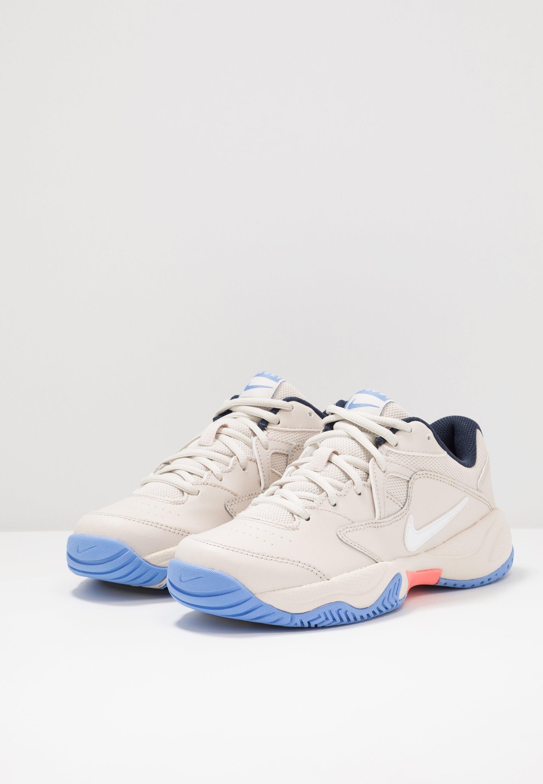 Zakupy Internetowe Obuwie damskie Nike Performance COURT LITE 2 Buty tenisowe uniwersalne light orewood brown/white/royal pulse